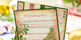Card Making Ideas : Musical Christmas Card