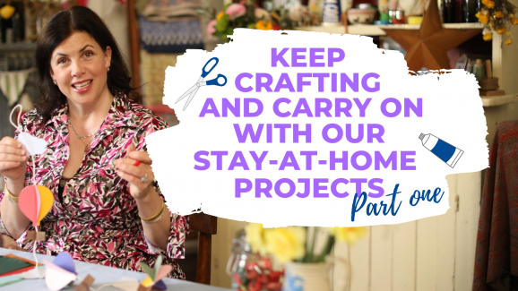 Craft Projects Inspired By Kirstie's Keep Crafting And Carry On: PART ONE