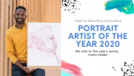 Master Strokes: Portrait Artist of the Year Winner Curtis Holder