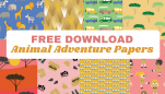 Animal Adventure Free Papers