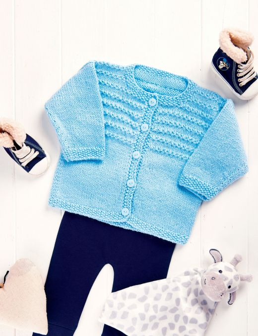 Knit A Baby Cardigan