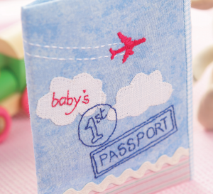 Baby's First Passport Cover