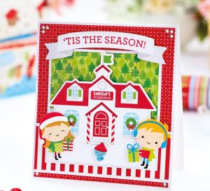 Cute Christmas Wishes Card