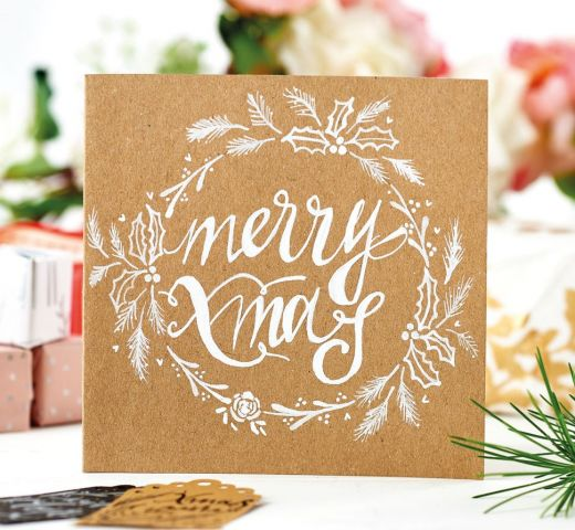 Classic Christmas Illustrations & Calligraphy With POSCA