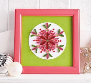 Quilled Filigree Snowflakes