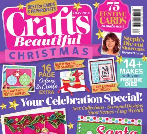 Crafts Beautiful Christmas Special 2018 Issue 324 Template Pack