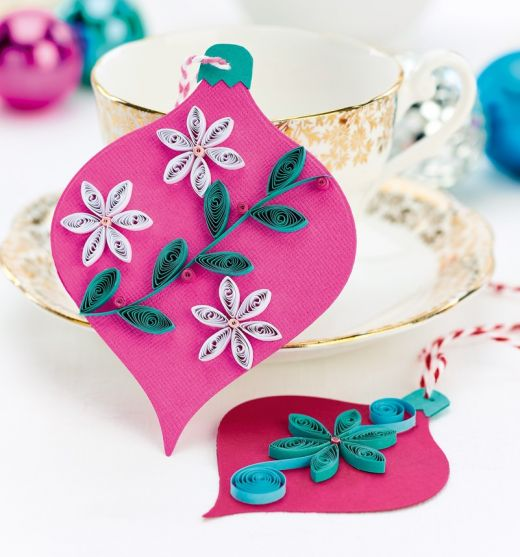Bright Quilled Baubles