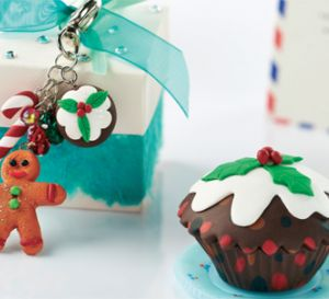 Christmas treat jewellery Pudding Box