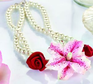 Form a Floral Corsage Set Necklace