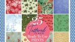 Free Tattered Lace Download Pack