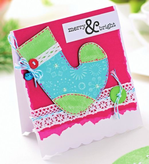 Embossed Christmas cards - Free Card Making Downloads ...