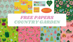 Free Country Garden Papers