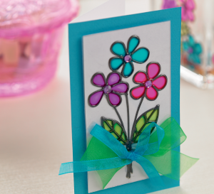 Floral Painted Glass Gifts