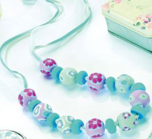 Form Polymer Clay Millefiori Jewellery Necklace
