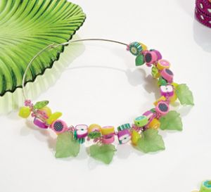 Fruit Fusion Choker Necklace