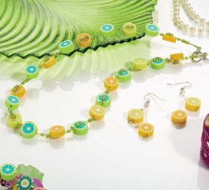 Fruit Fusion Fruit Slice Necklace