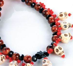 Gothic Skulls Necklace