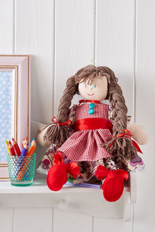 Easy-Sew Rag Doll
