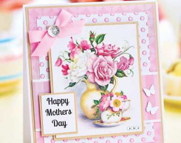 Easy Layered Mother's Day Card