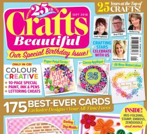 Crafts Beautiful September 2018 Issue 322 Template Pack