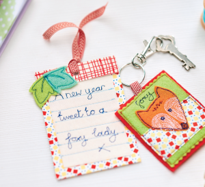 Whimsical Woodland Keyring & Gift Tag