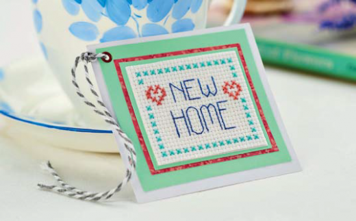 New Home Cross-Stitch