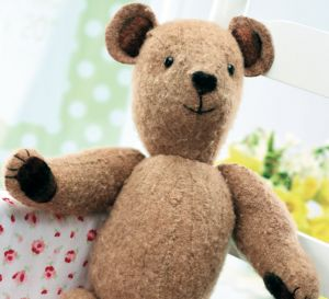 Stitched Vintage Teddy Bear