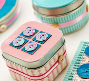 Enamelling Tutorial to Create Button Boxes