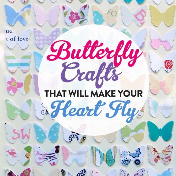 Butterfly Crafts That Will Make Your Heart Fly