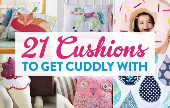 21 Cushions To Get Cuddly With