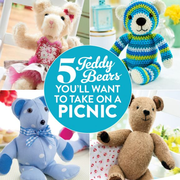 5 Teddy Bears You'll Want To Take On A Picnic