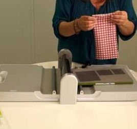 Accuquilt's new GO! Fabric Cutter unboxed.