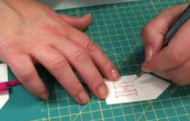 How to decorate your cards and gifts using craft stencils