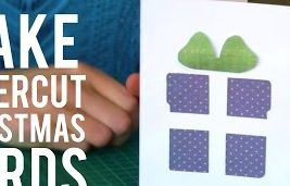 How To Make Paper Cut Christmas Cards