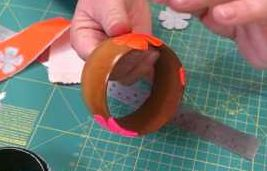 How To Die Cut Bangles From Duck Tape | EASY BEGINNERS PROJECT