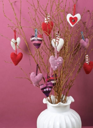 Stash-busting Valentine's Day hearts