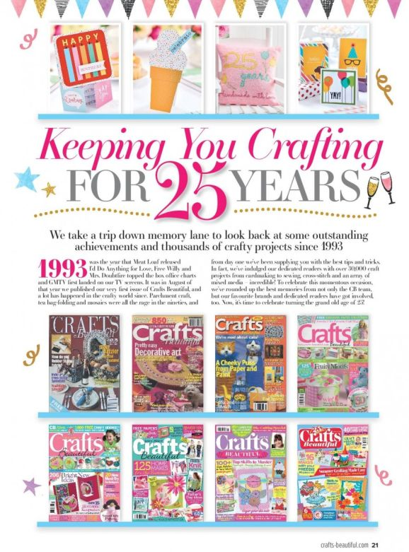 Crafts Beautiful September Issue Out Now!