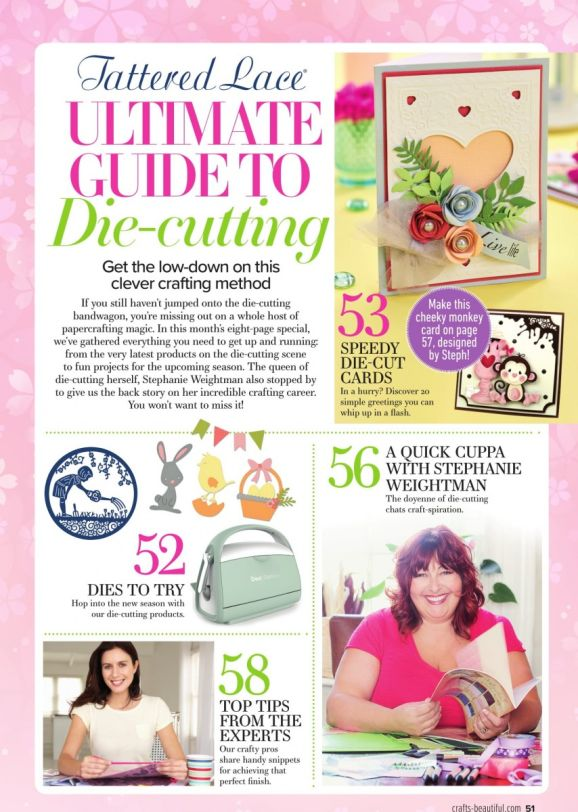 Crafts Beautiful March Issue Out Now!