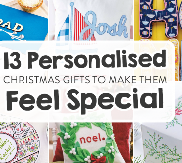 13 Personalised Christmas Gifts To Make Them Feel Special