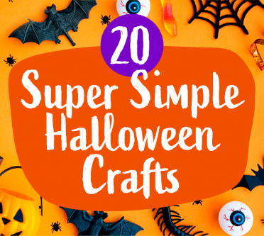 20 Super Simple Halloween Crafts