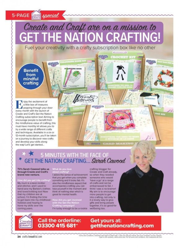 Crafts Beautiful October Issue Out Now!