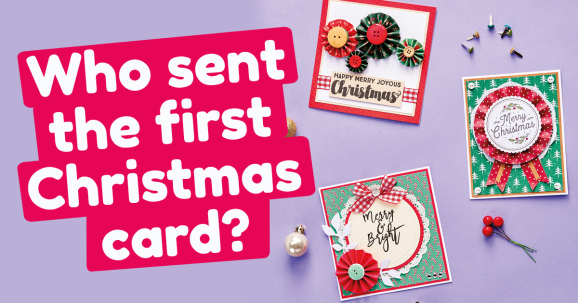Who Sent the First Christmas Card?