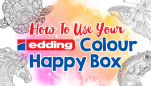 How To Use Your edding Colour Happy Box