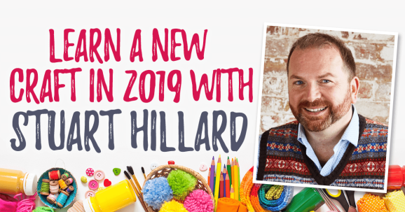 Learn a New Craft With Sewing Bee's Stuart Hillard