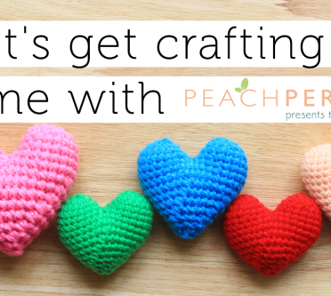 Let's Get Crafting At Home with Peach Perfect