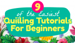 9 of the Easiest Quilling Tutorials For Beginners
