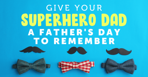 Give Your Superhero Dad a Father's Day to Remember with the Help of Sewing Bee's Stuart Hillard