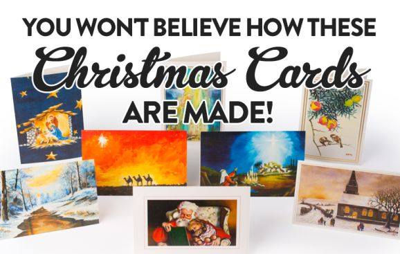 You Won't Believe How These Christmas Cards Are Made!
