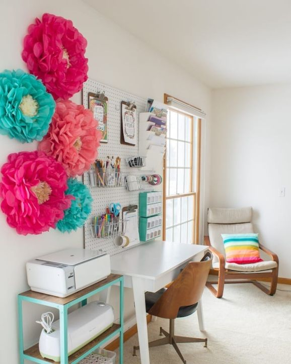 10 Of The Niftiest Craft Rooms We've Ever Seen