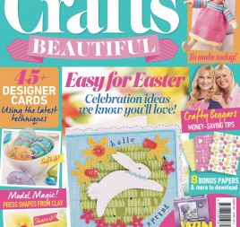 Crafts Beautiful April 2017 Issue 304 Template Pack